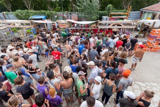 Form Follows Aktion – Festival Festival La Ville des Terres, Île-Saint-Denis 2017, photo : Alexis Leclercq Perspektive