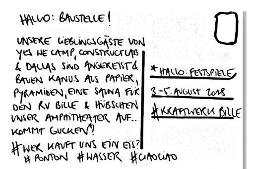 Hallo Festspiele </br> Sur l&#8217;eau (c) Hallo Festspiele Perspektive