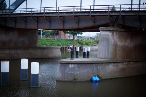 Hallo Festspiele </br> Sur l'eau photo : Johannes Kollender pour Hallo Festspiele Perspektive