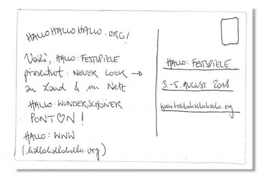 Hallo Festspiele </br> Sur l'eau (c) Hallo Festspiele Perspektive