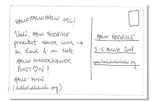 Hallo Festspiele </br> Sur l´eau (c) Hallo Festspiele Perspektive
