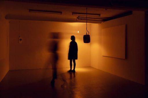 IEPA #4 Mark Schreiber, Ausstellungsansicht IEPA#3, 2019, Frankfurt am Main Perspektive