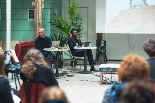 Black Lens </br>Black Light Black Lens, séminaire, 29 au 30 mars 2018, La Colonie, Paris, photo : Romain Goetz Perspektive