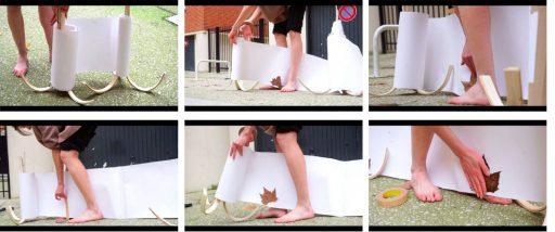 Dé-jardiner <-> Rendez vous au jardin Chloé Silbano, Tenir debout, vidéo, (c) Chloé Silbano Perspektive