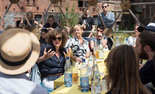 Jury PERSPEKTIVE <-> 2020 MakeCity Festival, Berlin 2018, photo : Anna Vera Lengyel Perspektive