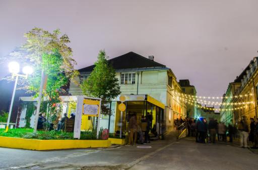 HALLO Festspiele: Les Grands Voisins La Lingerie, Saint-Vincent-de-Paul, 23.10.15 © Les Grands Voisins  Perspektive