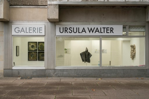 Remembering the future Ausstellungsansicht Galerie Ursula Walter, Foto: Andreas Kempe Perspektive