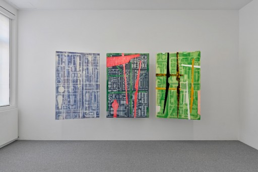 Your North is  </br> my South Your North is my South, Museum für Neue Kunst, Ausstellungsansicht 2018, Foto: Bernhard Strauss Perspektive