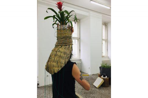 Dé-jardiner <-> Rendezvous im Garten Vorbereitungen für die Performance von Emmanuel Hubaut Perspektive