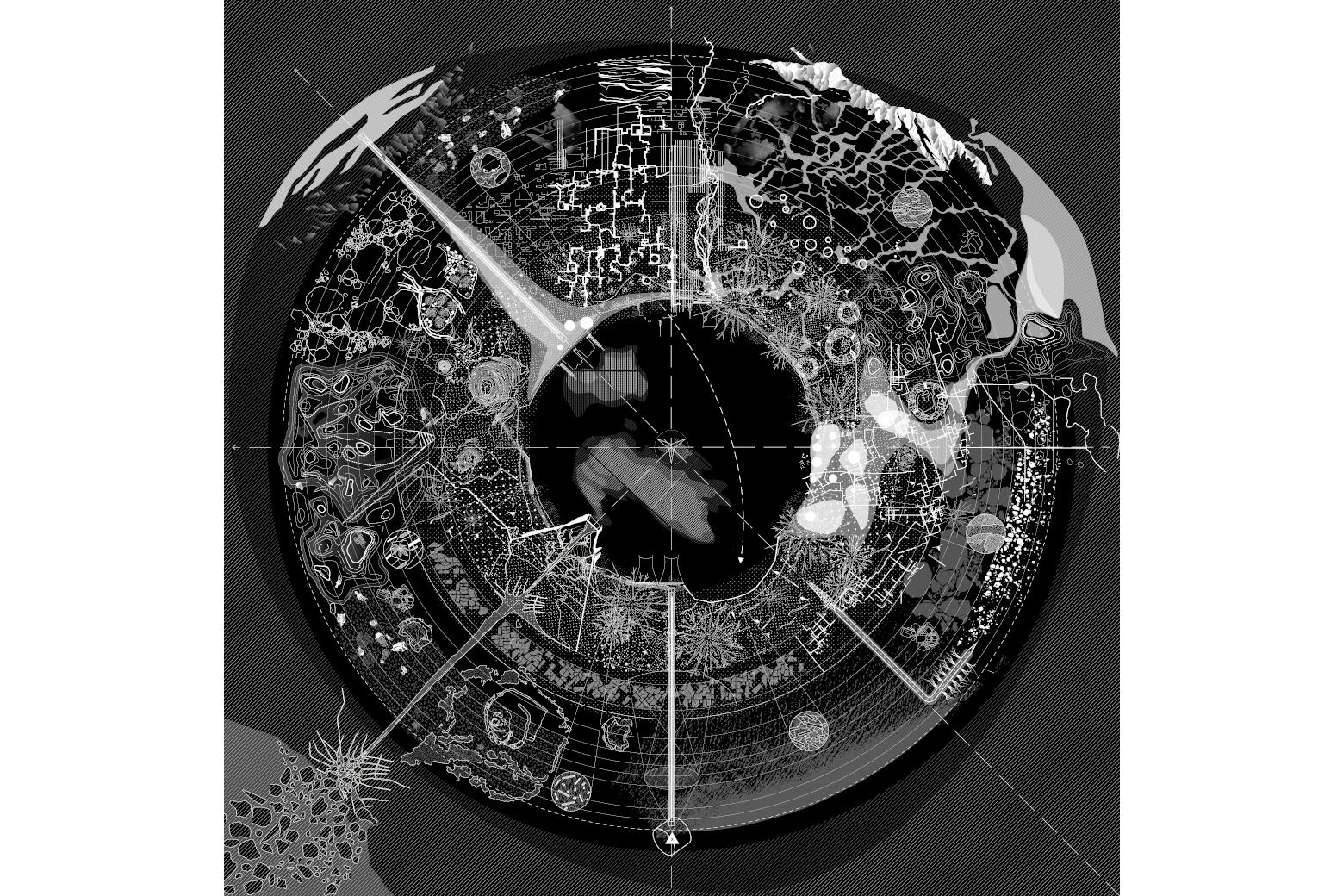 Critical Zones Frédérique Aït-Touati, Alexandra Arènes, Axelle Gérgoire, The Soil Map (Detail) 2019, © Courtesy of the artists Perspektive