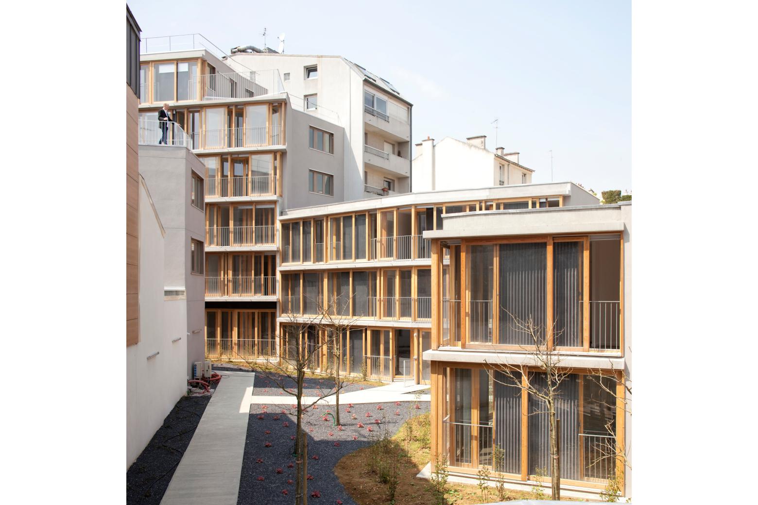 Die Architektur des Realen in Frankreich Armand Nouvet, Orteaux Paris © Clément Guillaume Perspektive