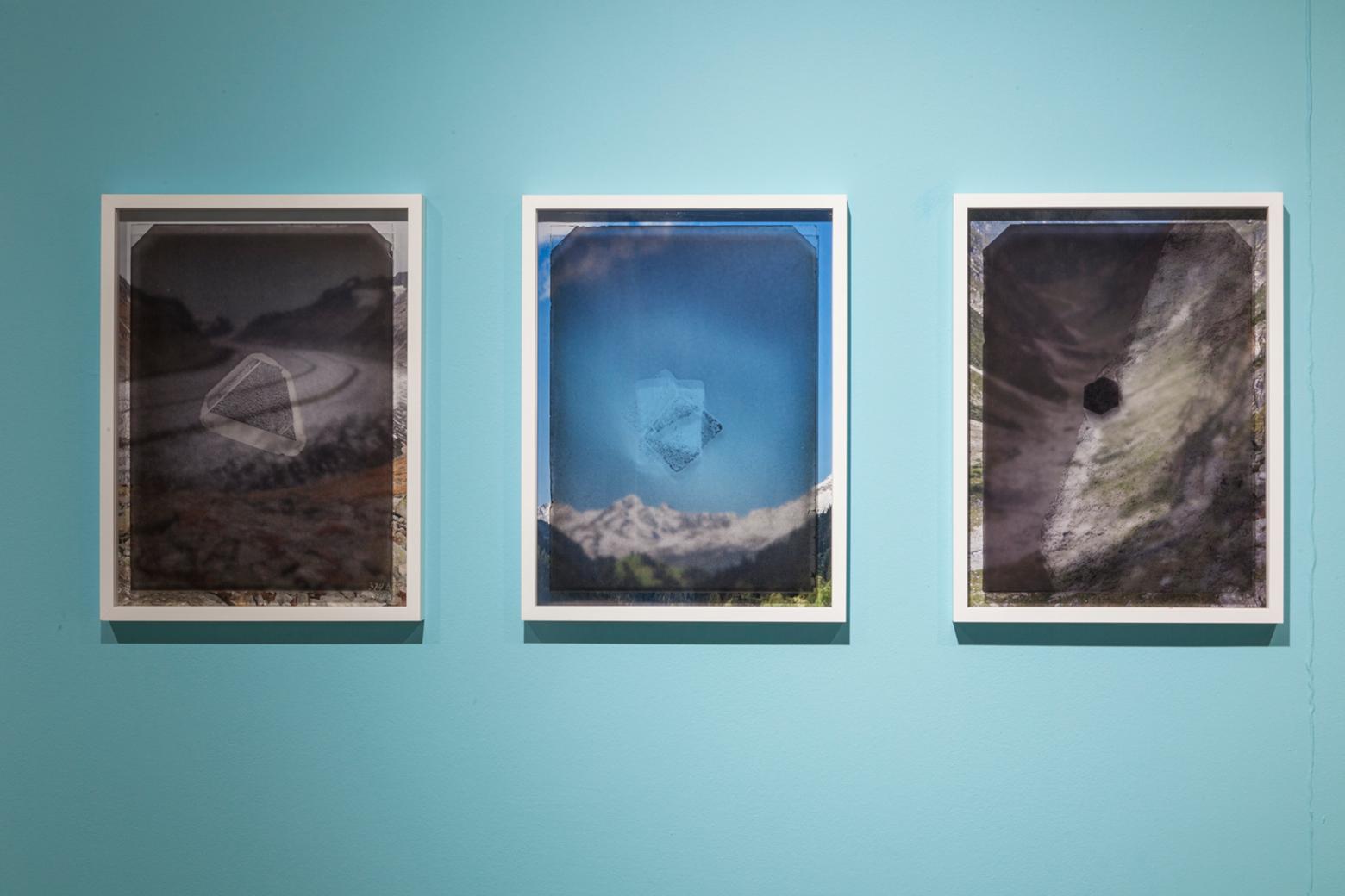 Cristal réel Ausstellungsansicht Cristal réel, Goethe Institut Paris 2019  © Isabelle Le Minh / ADAGP, Paris 2019 Perspektive