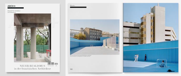 NEUER REALISMUS <-> FRANKREICH ARCH+ 240, Neuer Realismus in der französischen Architektur, Herbst 2020 Perspektive