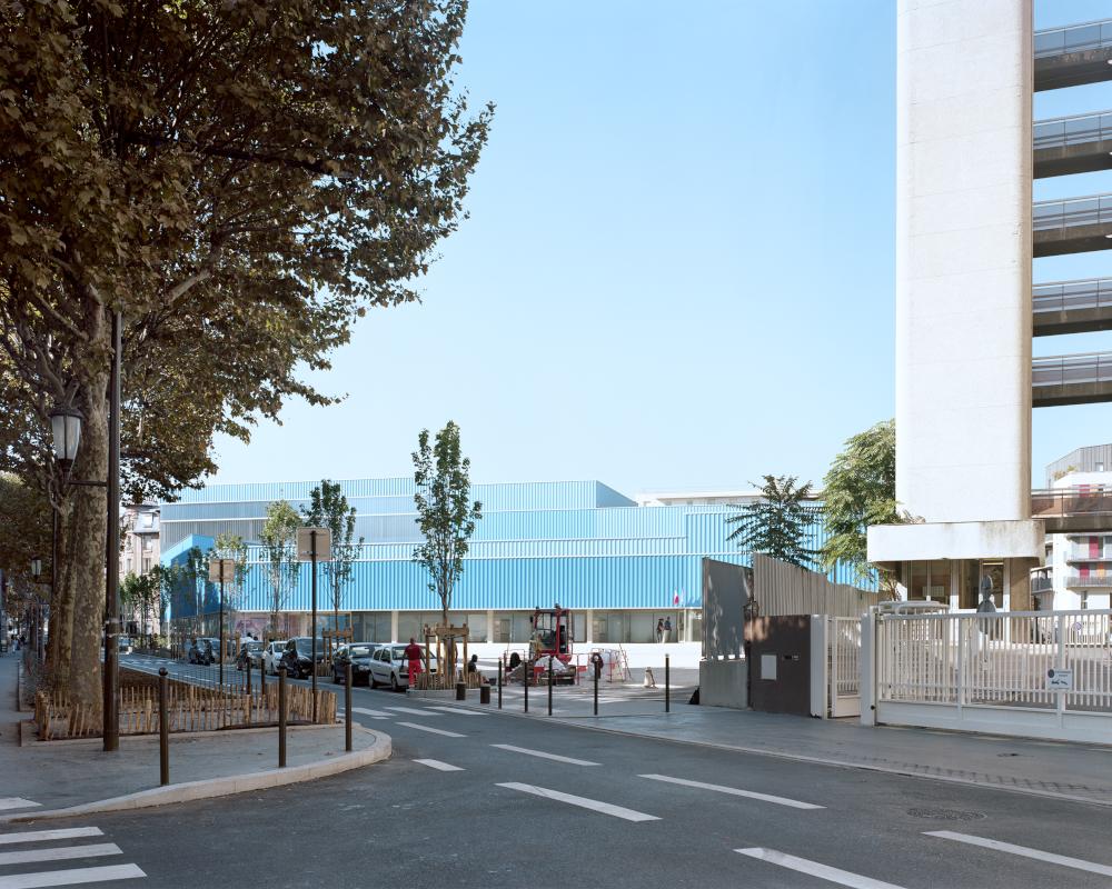 NEUER REALISMUS <-> FRANKREICH Ecole numérique, Foto: Maxime Delvaux Perspektive